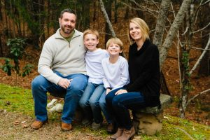Phillip Barham and family