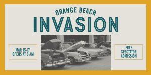 Orange Beach Invasion Car Show