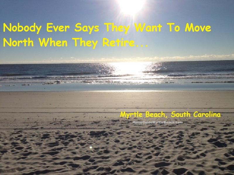 Retire to Myrtle Beach