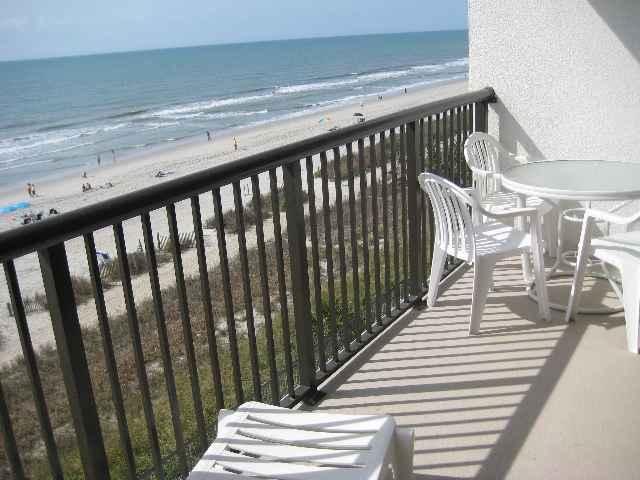 Regency Towers Myrtle Beach Oceanfront Balcony