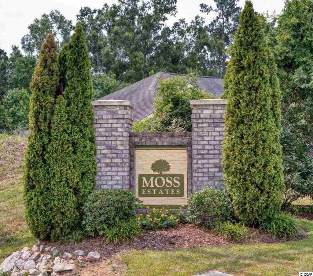 Moss Estates Homes For Sale Myrtle Beach SC
