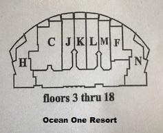Ocean One Condos 3rd thru 18th floor