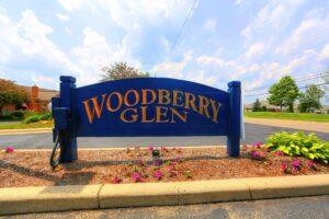 Woodberry Glen Condominium Mount Vernon Ohio Sign