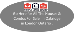 All The Houses & Condos For Sale on MLS in Oakridge London Ontario