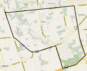 Lambeth Talbot Village Map Boundaries