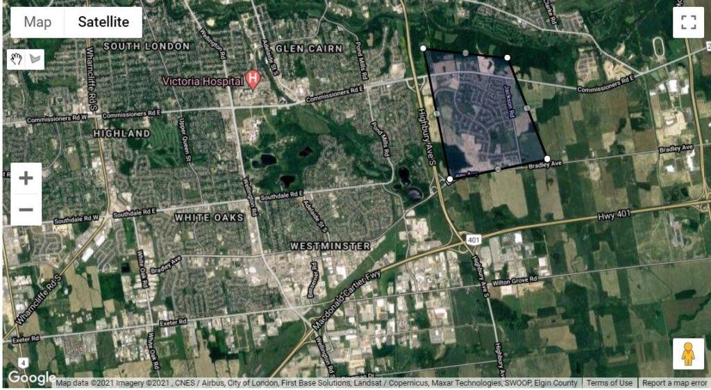 Summerside London Ontario Neighbourhood Map Boundaries