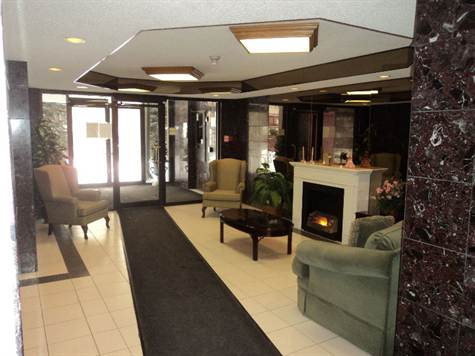 1180 Commissioners Road West Lobby