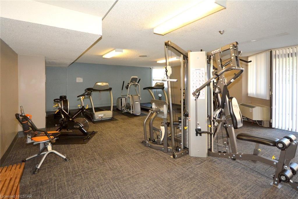 323 & 363 Colborne St London Ontario Gym