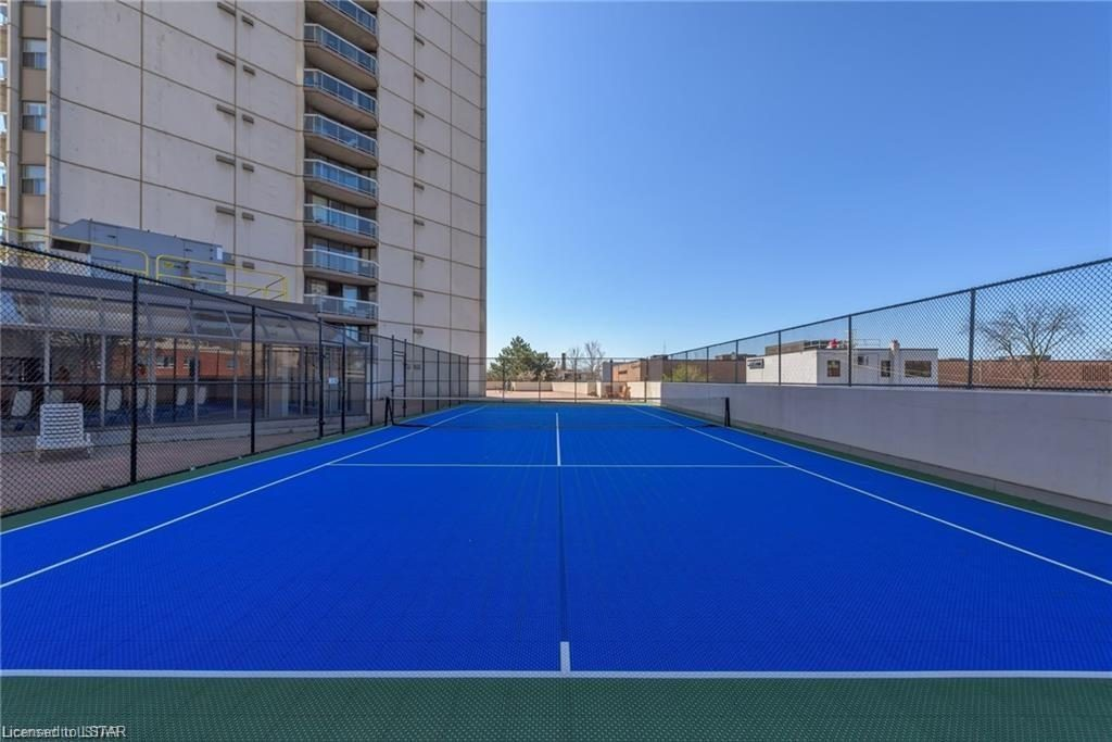 323 & 363 Colborne St London Ontario Tennis court