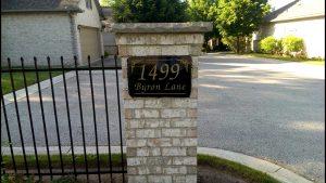 1499 Byron Baseline Rd Entrance
