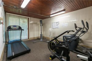 729 Deveron Cr London Ontario gym at 729 Deveron