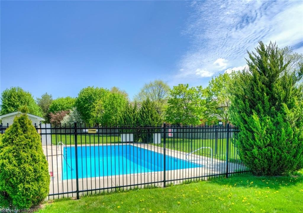 Outdoor Pool For Deveron Cr Apartment owners
