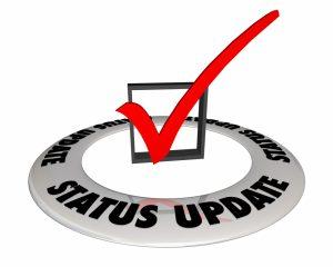 Status Certificate Update