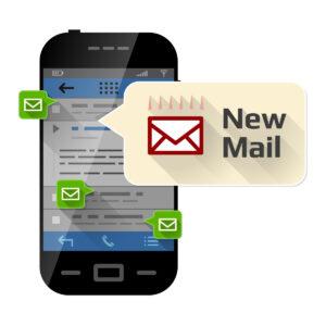 email alert of MLS listings