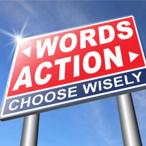 Words Actions in Real Estate