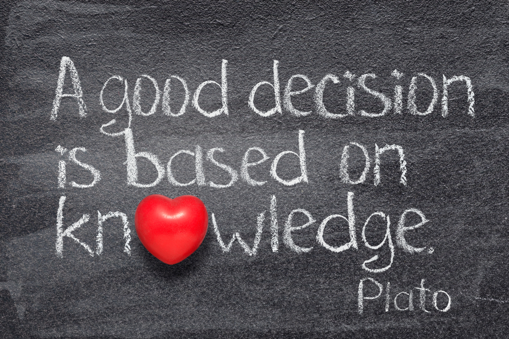 A Good Decision About Real Estate Is Based on Knowledge