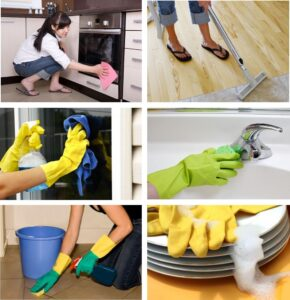 Cleaning your home to get it ready to sell on MLS