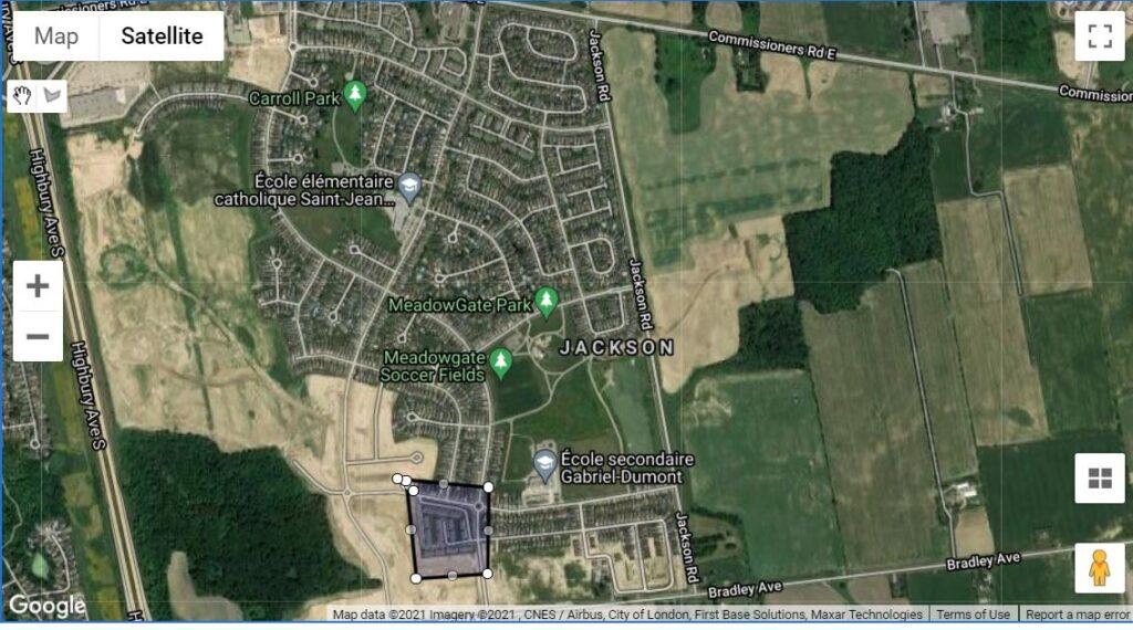 3320 Meadowgate Blvd London Ontario Location Map