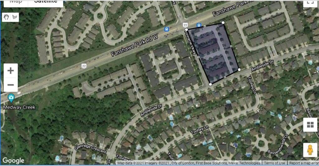 340 Ambleside Drive London Ontario Location Map