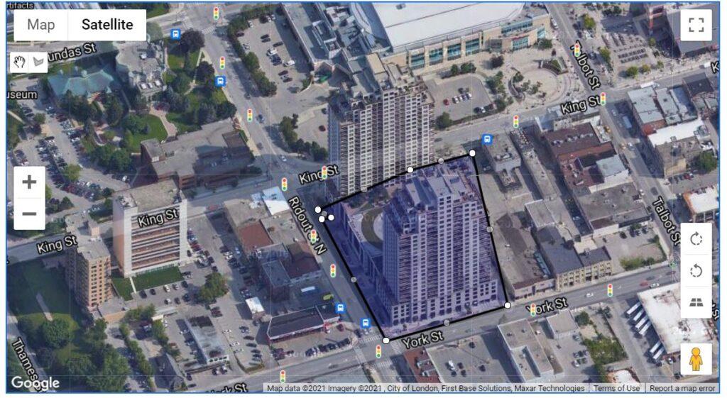 330 Ridout Street London Ontario Map Location