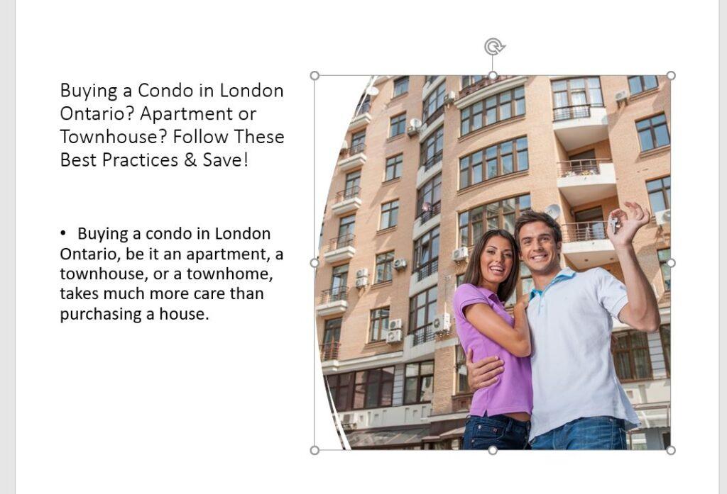 buying an apartment condo in London Ontario