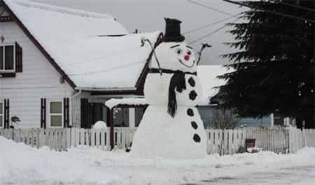 Darrington Giant Snowman 2