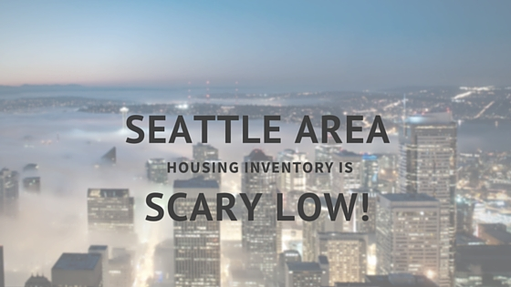 seattle area housing inventory is (2)