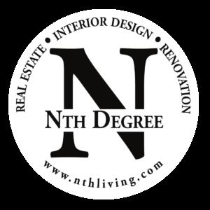 Nth Degree Logo. Real Estate Interior Design Renovation
