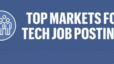 These 30 markets saw the biggest jump in tech job postings