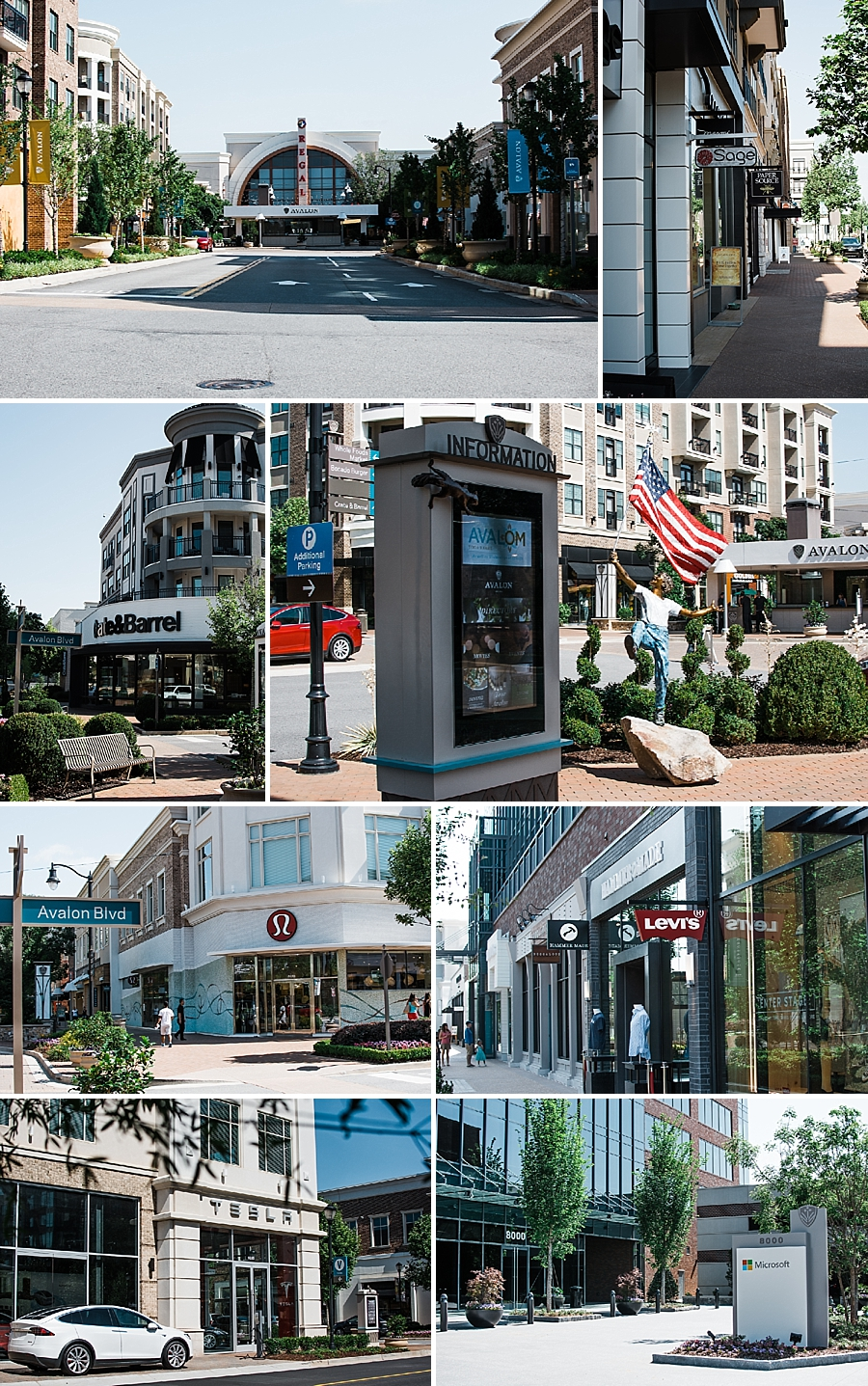 Upscale Shopping, Dining and Entertaining at Avalon