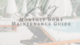 July Maintenance Guide