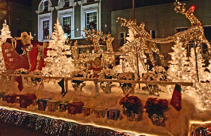 Event Spotlight: Greenville Poinsettia Christmas Parade ...