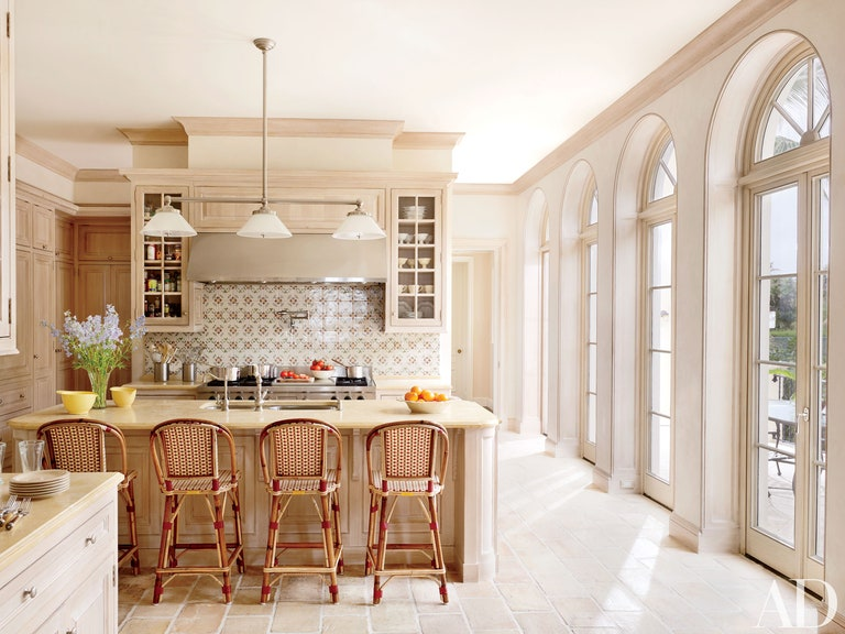 A beautifully remodeled kitchen.