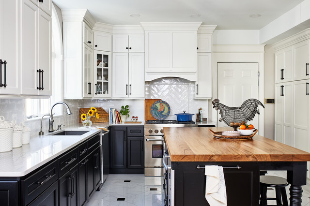 A mid-range kitchen remodel designed to increase return on investment for potential sellers.