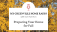 Dan's Fall Home Maintenance Checklist