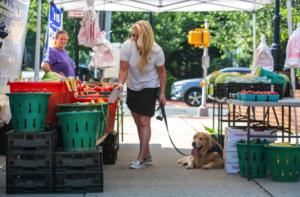 Fredericksburg Ginger Walker Farmers Market
