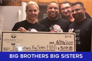 Big Brothers Big Sisters Give Back Team