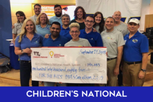 Children's National Health Care Give Back team