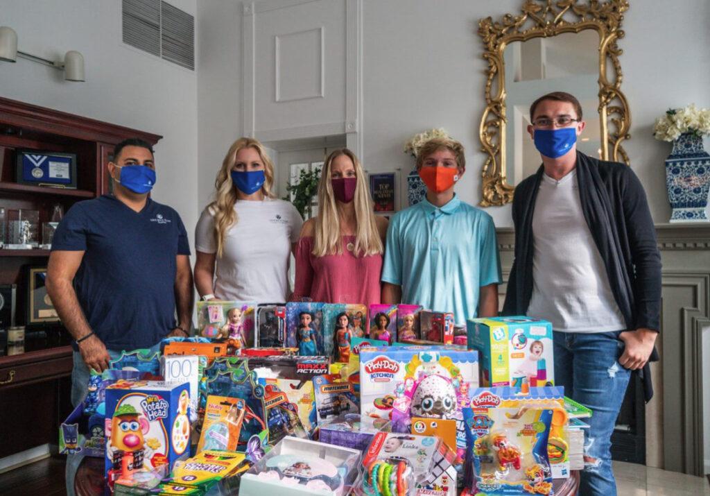 Keegan Kaczmar Collects Toys for Children's National Hospital
