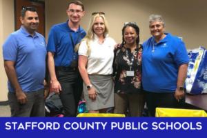 Stafford County Public Schools Give Back Team