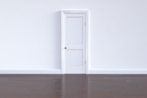 Keep house warm by shutting doors