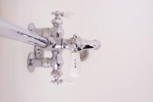 a shower bar handle