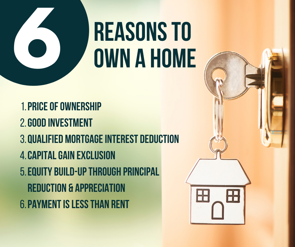 6 Reasons to Own a Home