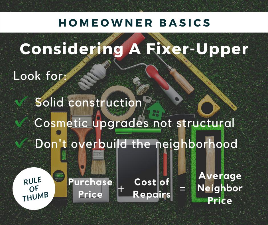 considering a fixer upper