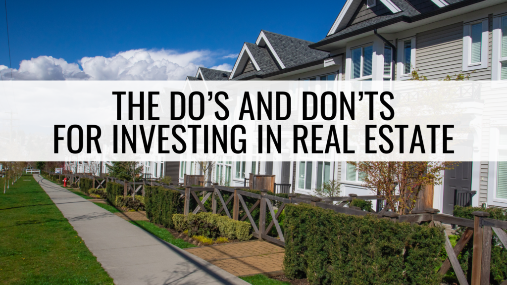 townhomes and rental property investments information