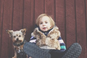 kid dog