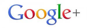 google plus logo cropped white