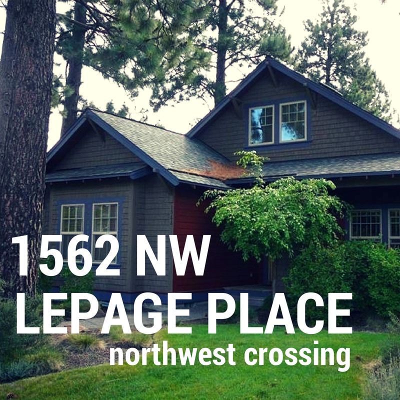 HOTW 1562 NW Lepage Place Bend OR 97701