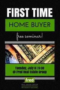 first time homebuyer free seminar