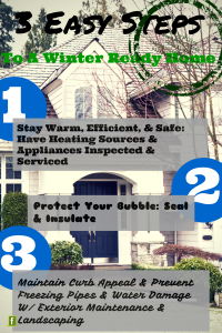 3 Easy Steps To Winter Ready Home Summary
